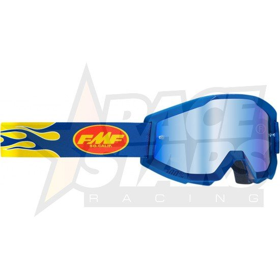 OCULOS FMF POWERCORE FLAME NAVY